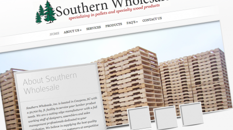 Southern Wholesale Website Design