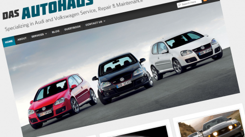 Das Autohaus, LLC Custom Website Design