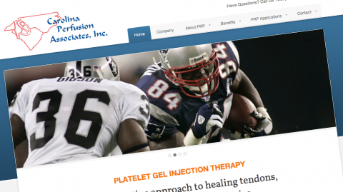 Carolina Perfusion Associates Website