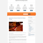 Platelet Gel Custom Website Design | Spartanburg, SC