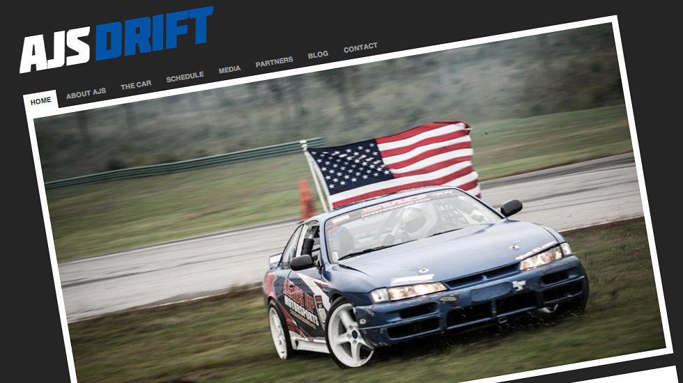 AJS Drift Website Developement